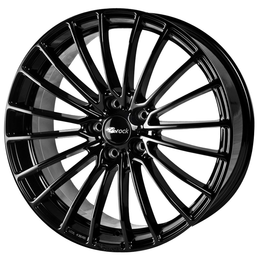 brock b24 rims brock rims on sale at pneus online. Black Bedroom Furniture Sets. Home Design Ideas